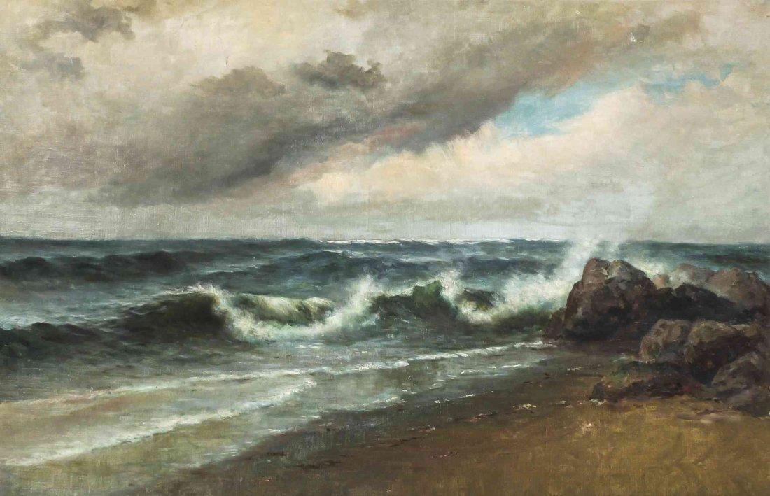 Artist Unknown, (American, 19th century), Seascape