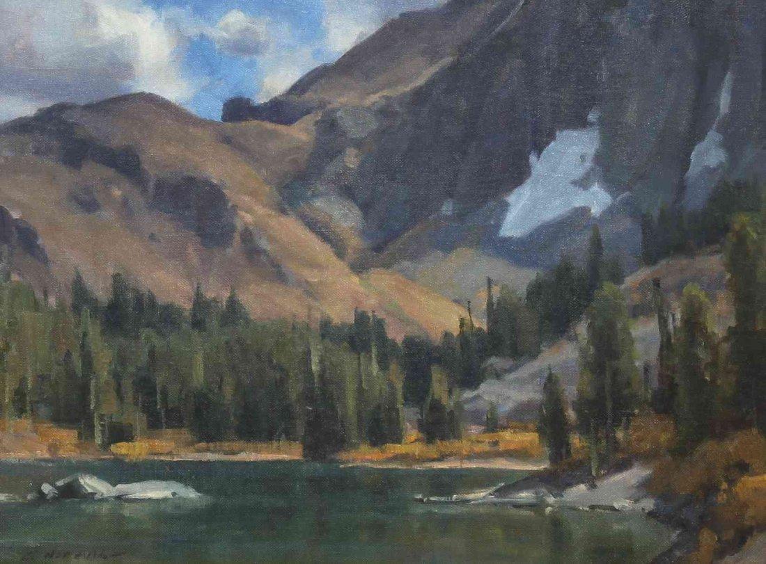 Clyde Aspevig, (American, b. 1951), Lake Scene