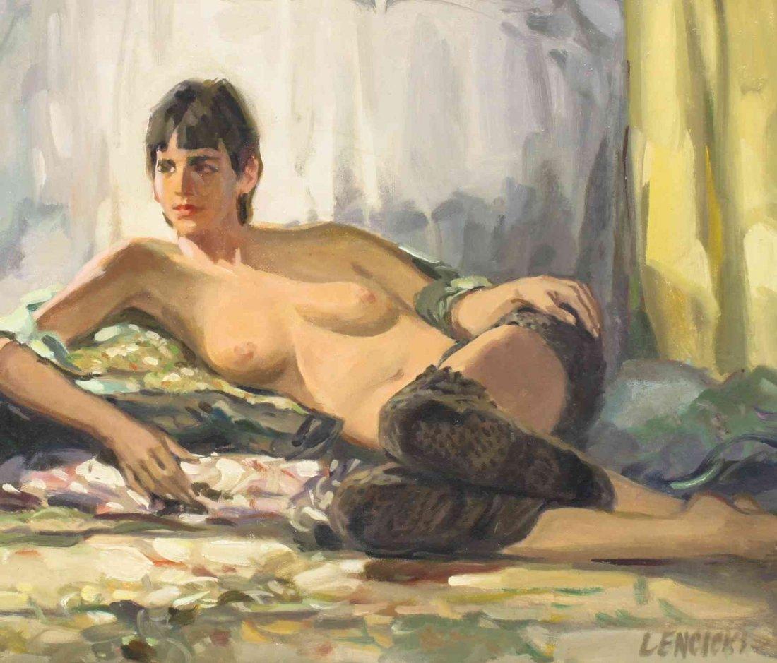 John Lencicki, (American, 20th century), Untitled