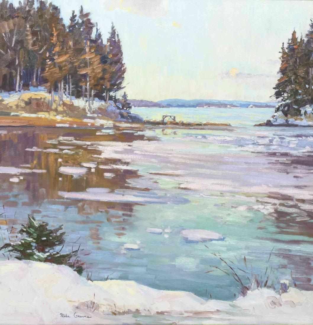 Michael Graves, (American, b. 1952), Snow Melt