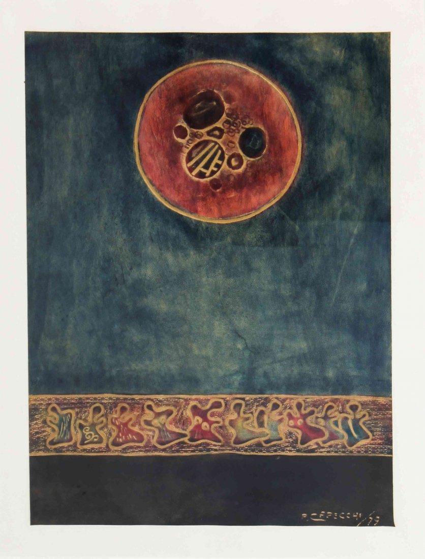 Piero Capecchi, (Italian, 20th century), Untitled
