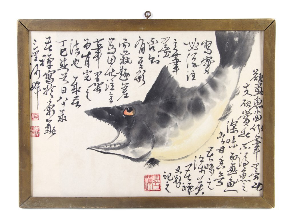 A Chinese Painting on Paper, After Li Kuchan