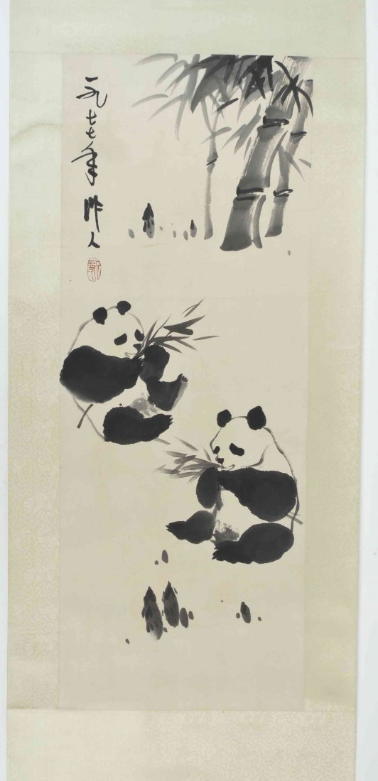 A Chinese Painting on Paper, After Wu Zuoren