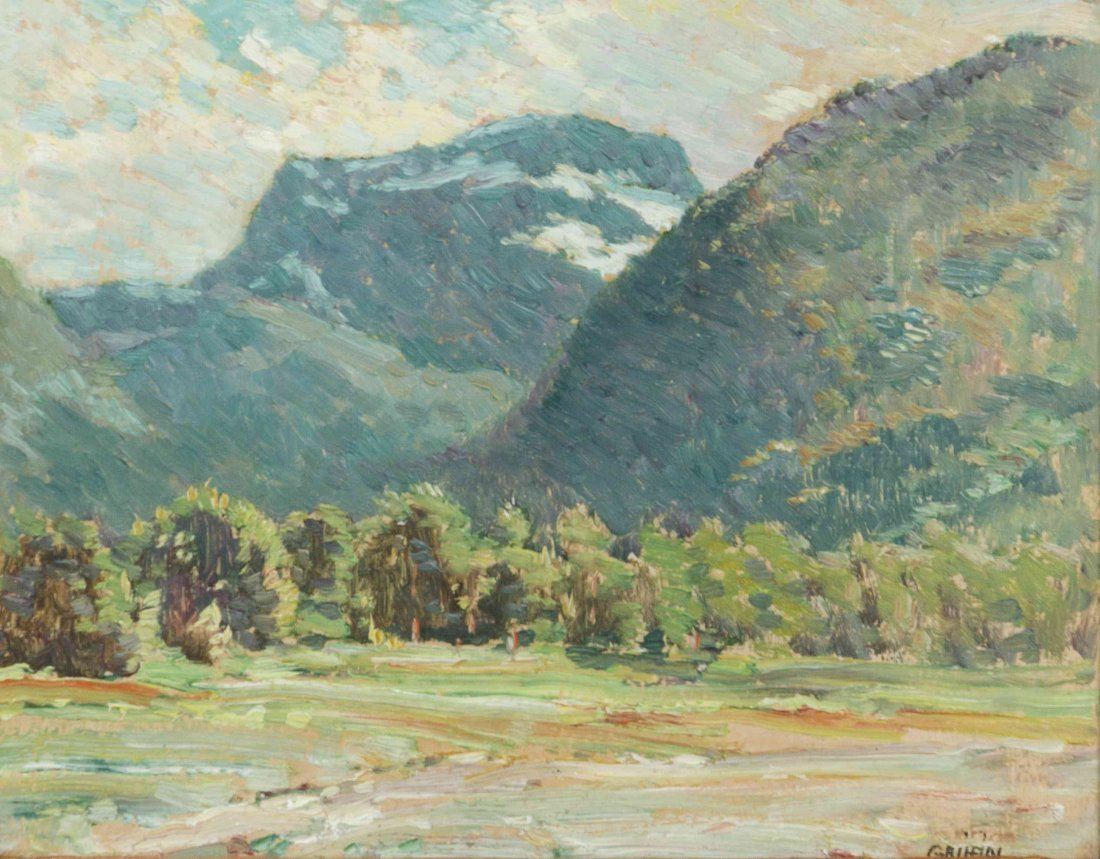 Walter Griffin, (American, 1861-1935), Mountain Valley,