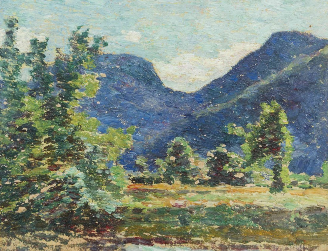 Walter Griffin, (American, 1861-1935), Mountain