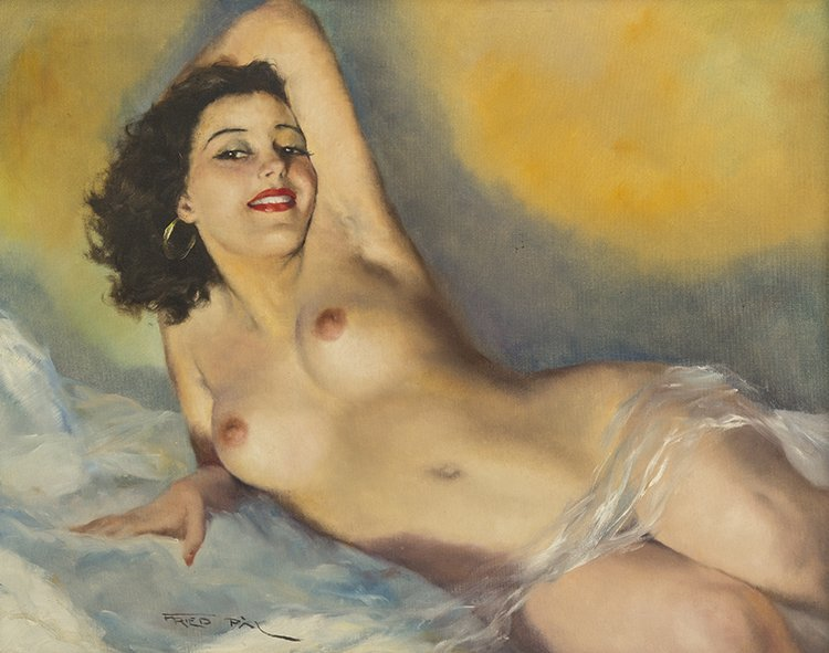 Pal Fried, (American/Hungarian, 1893-1976), Nude