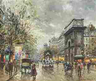 Antoine Blanchard, (French, 1910-1988), Portes St.