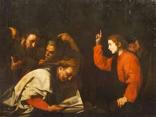 Follower of Ribera, (Continental School, 17th century),