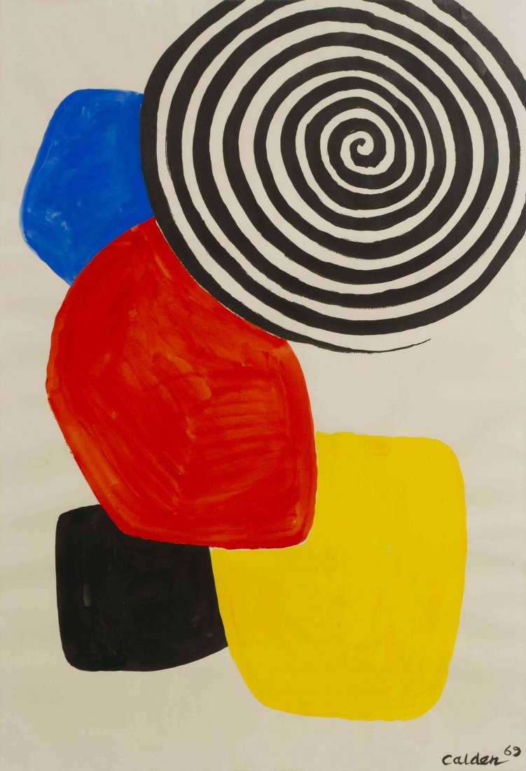 Alexander Calder, (American, 1898-1976), Patches, 1969