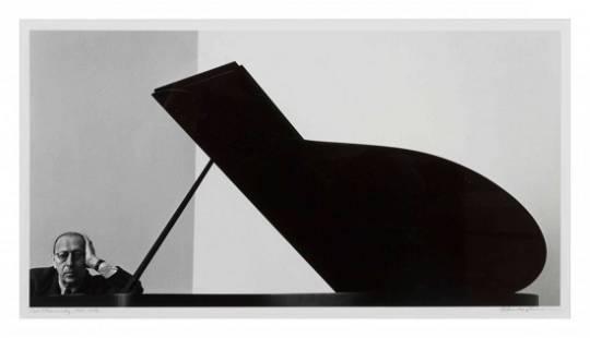 Arnold Newman, (American, 1918-2006), Igor Stravinsky,
