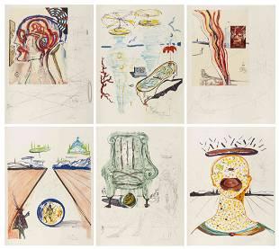 Salvador Dali, (Spanish, 1904-1989), Imaginations and
