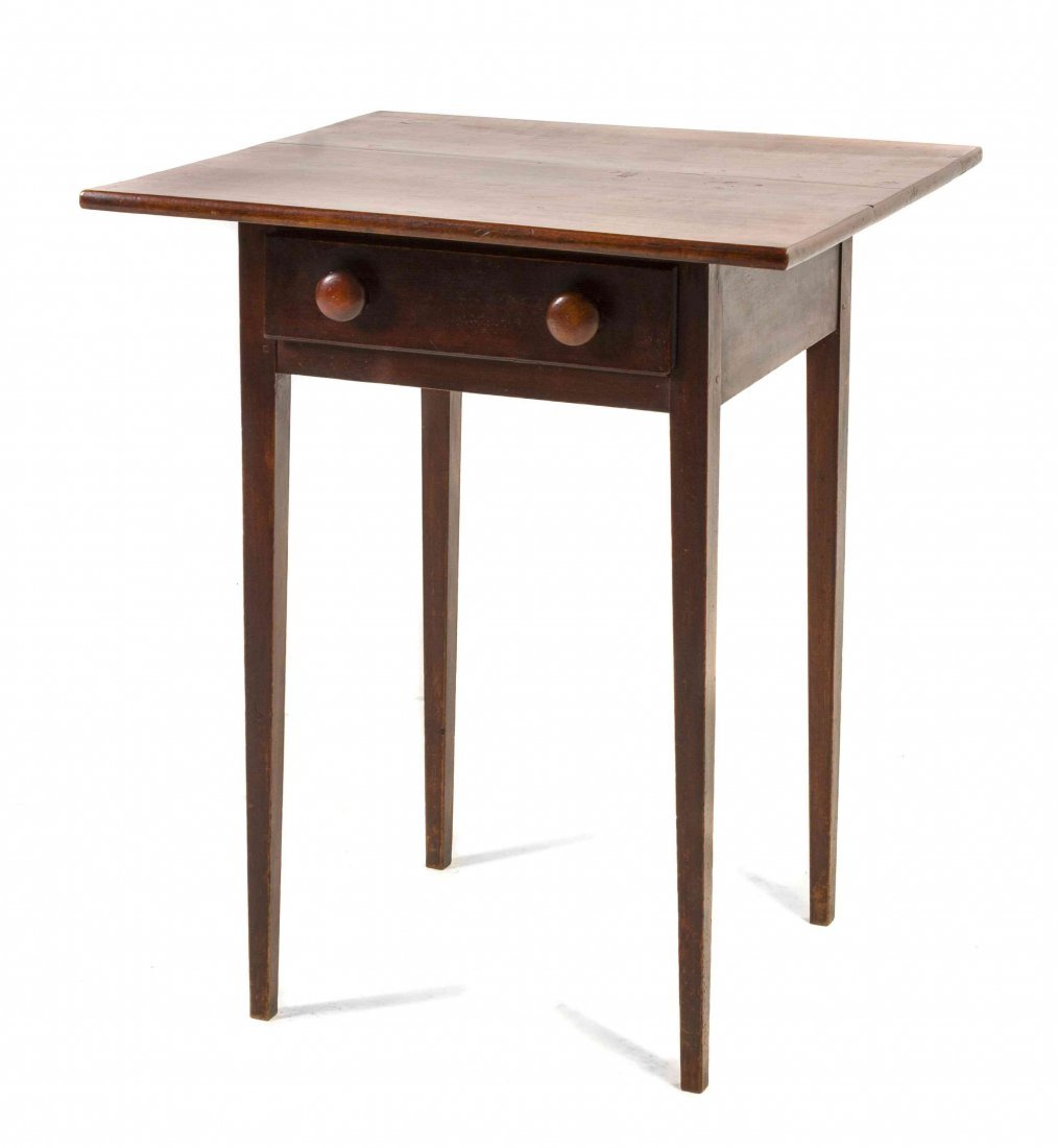 An American Hepplewhite Style Cherry Occasional Table,