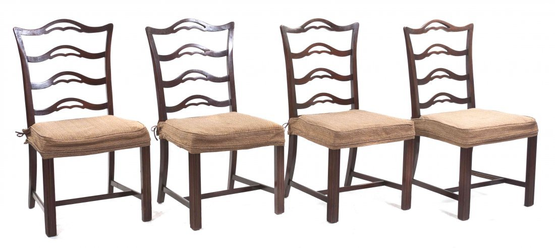 A Set of Four American Side Chairs, Hickory Chair Co.,