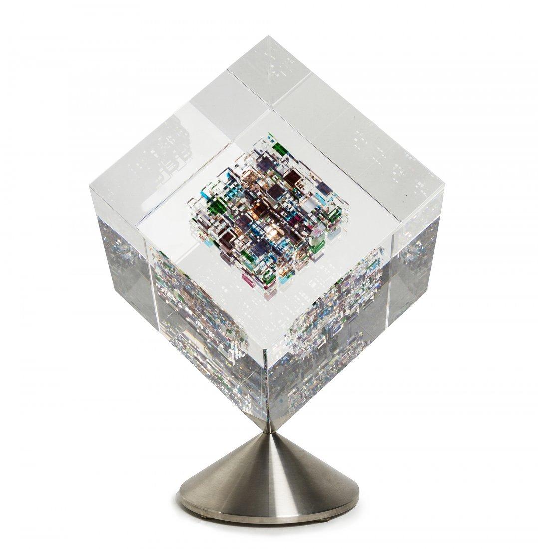 An American Studio Glass Sculpture, Jon Kuhn (b. 1949),