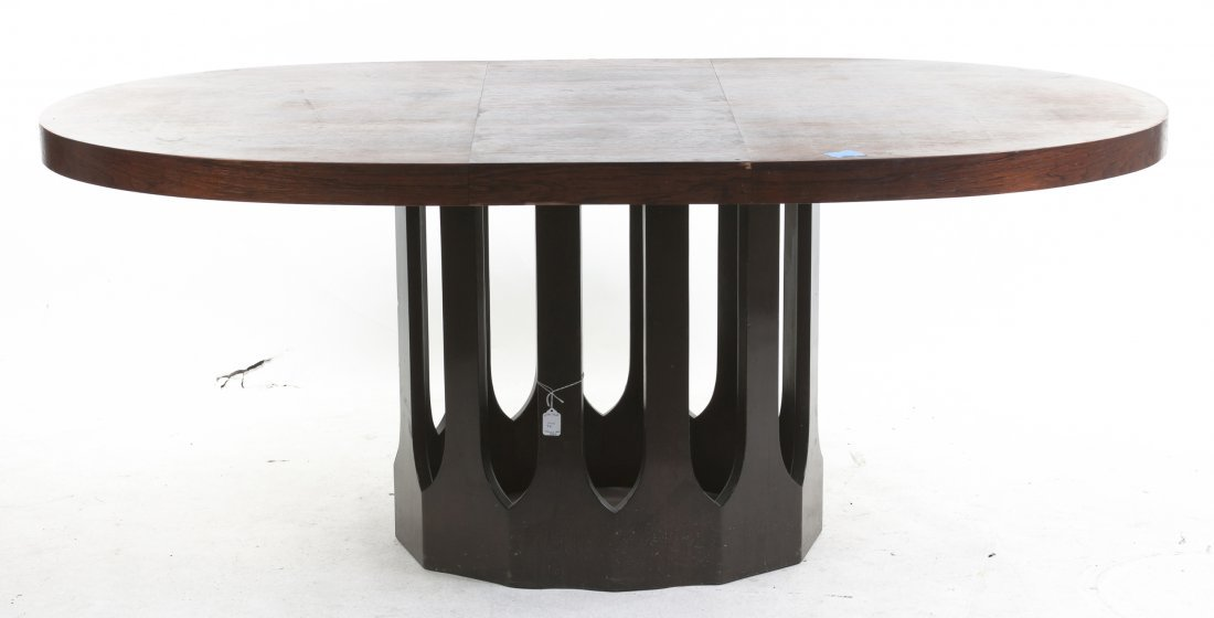 An American Extension Dining Table, Height 29 x width