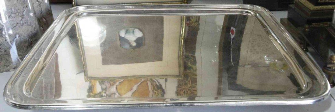 An English Silver-Plate Tray, Hukin & Heath, Birmingham