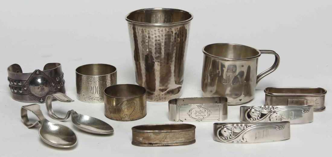 A Collection of Silver Table Articles, Height of