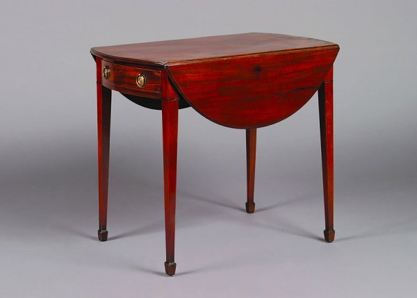 1: A George III Style Pembroke Table,