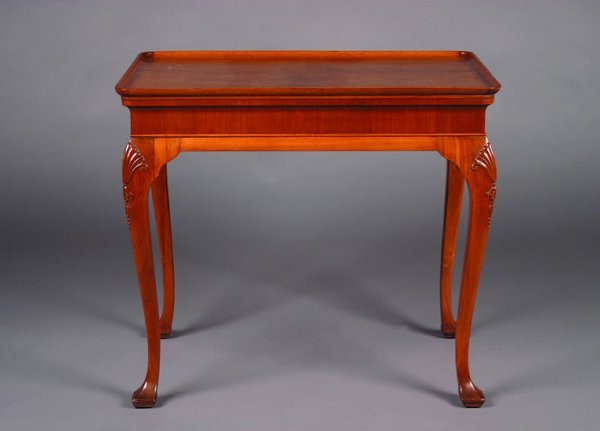 6: A Queen Anne Style Tea Table,