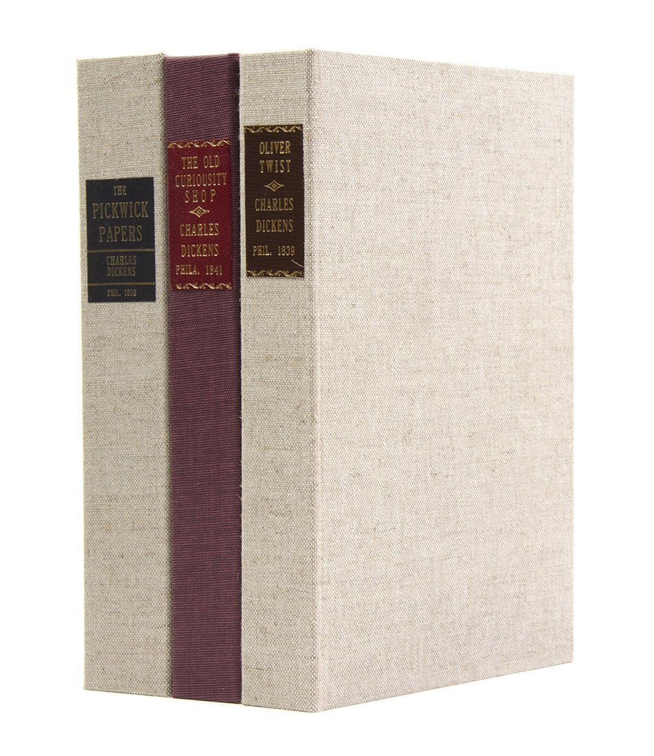 DICKENS, CHARLES. A group of three illustrated