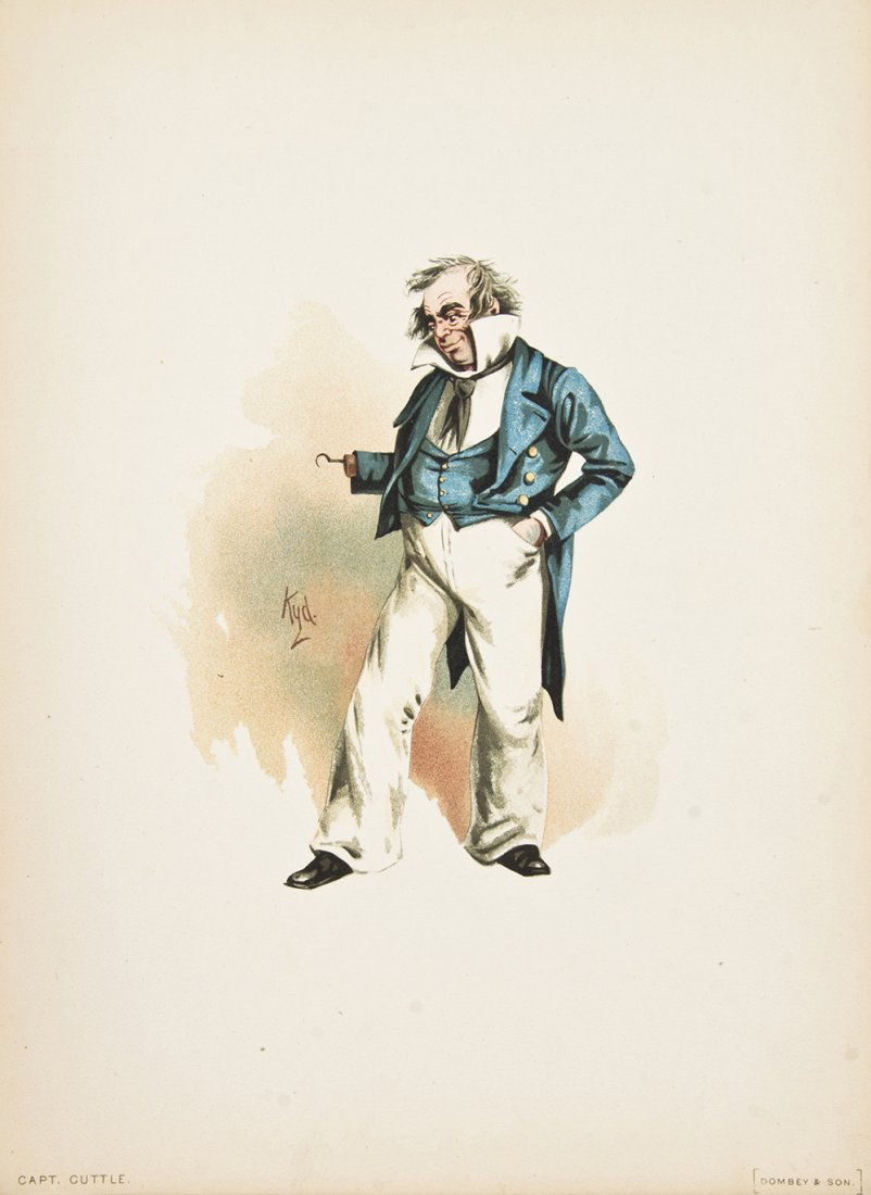 (DICKENS, CHARLES) KYD, pseud. the Characters of