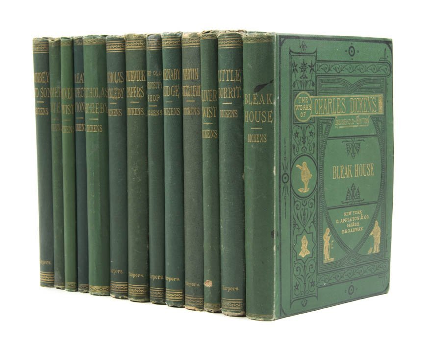 DICKENS, CHARLES. The Works. London and New York, c 187