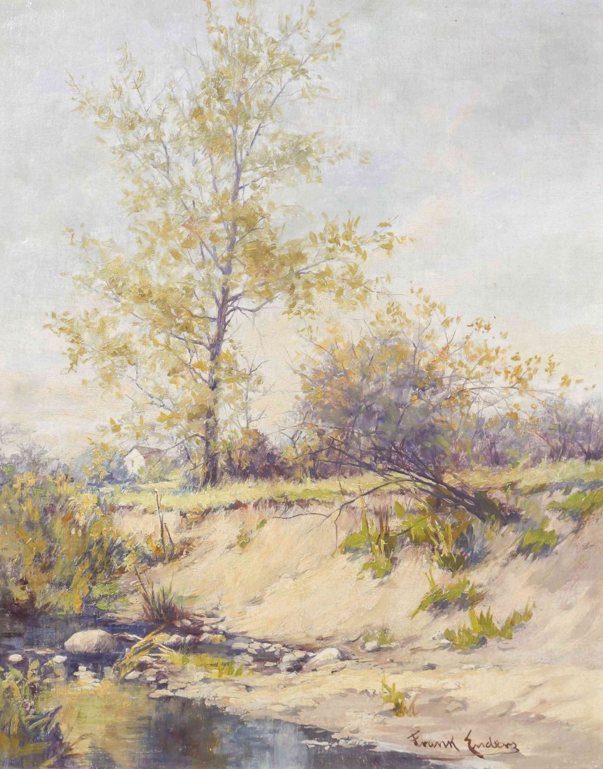 Frank Enders, (American, 1860-1921), Honey Creek,