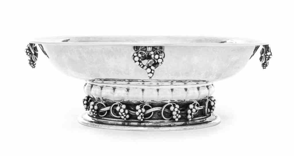 A Danish Silver Centerpiece Bowl, No. 296, Georg Jensen