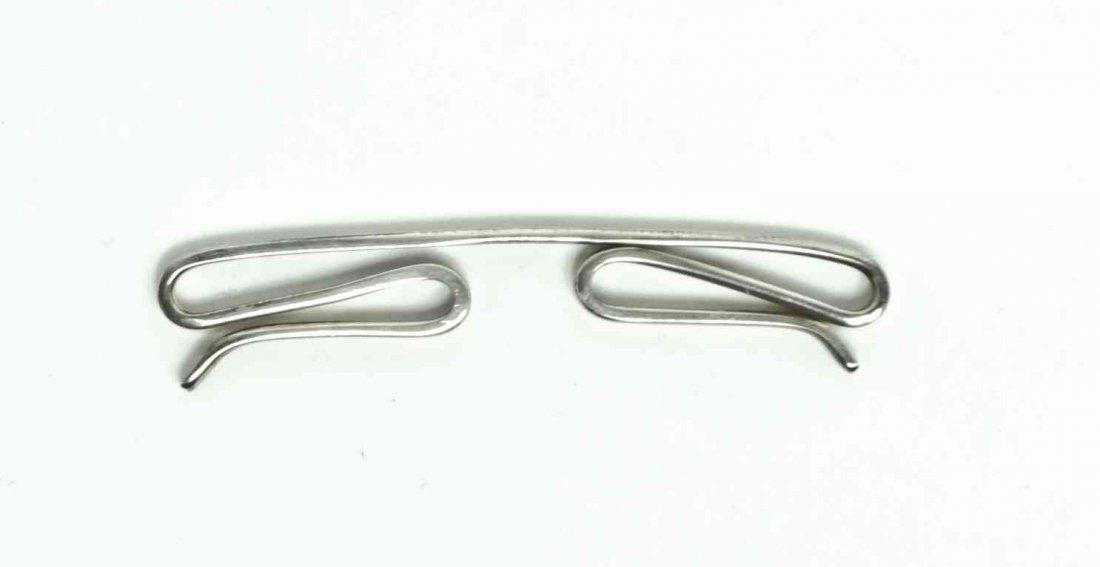 An American Silver Tie Bar, Tiffany & Co., New York,