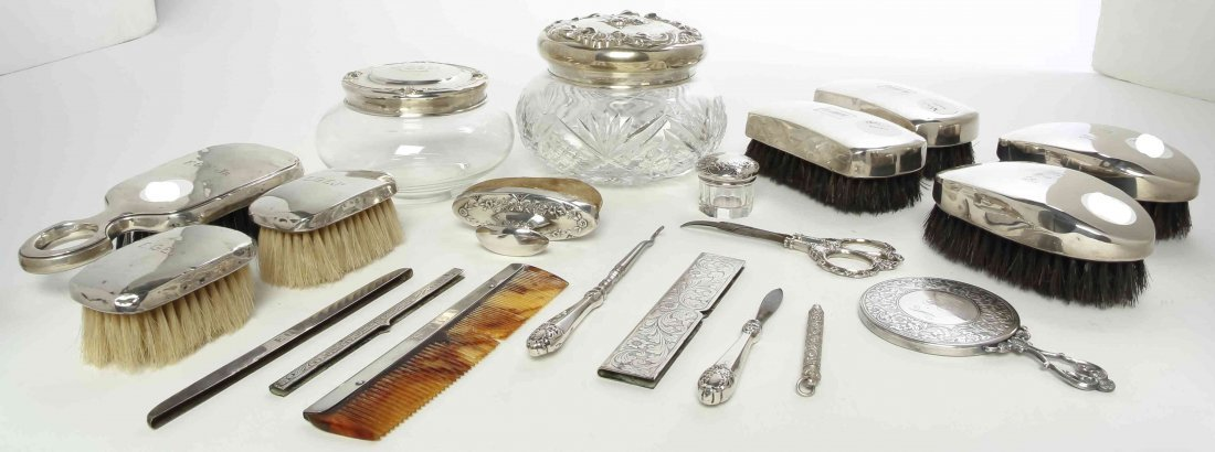 A Collection of American Silver Dresser Articles,