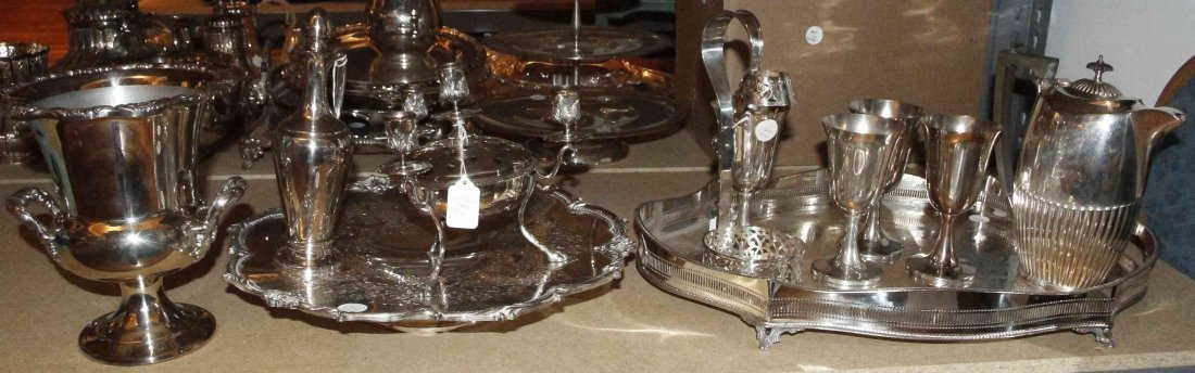 A Collection of American and English Silver-Plate