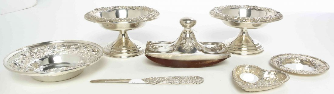 A Collection of American Silver Articles, Length of
