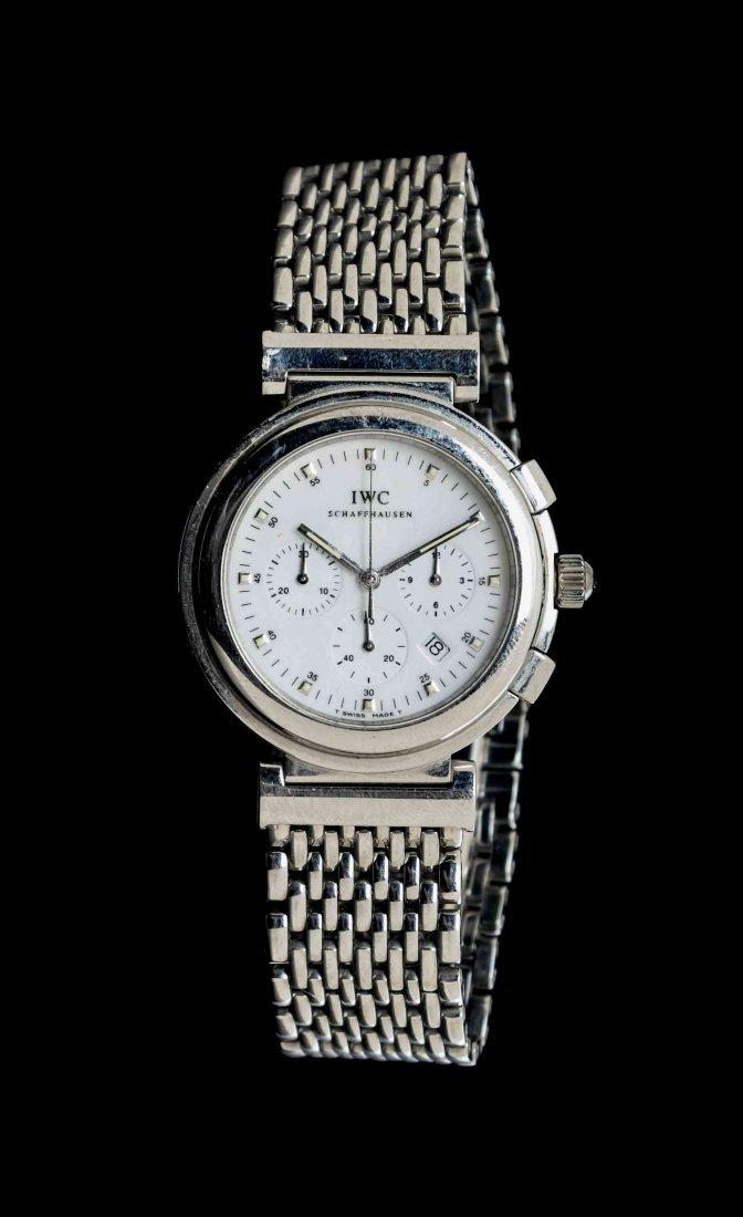 A Stainless Steel Da Vinci Chronograph Wristwatch,