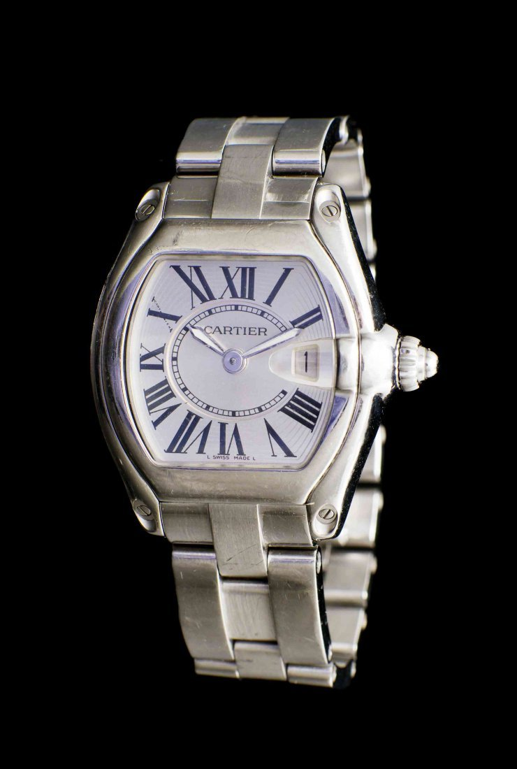 A Stainless Steel Ref. 2675 Roadster Wristwatch,