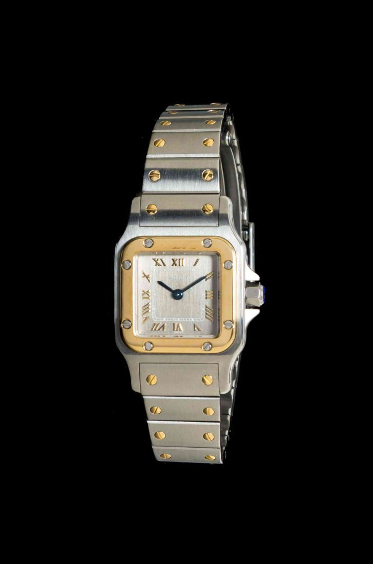 An 18 Karat Yellow Gold and Stainless Steel Ref. 1567
