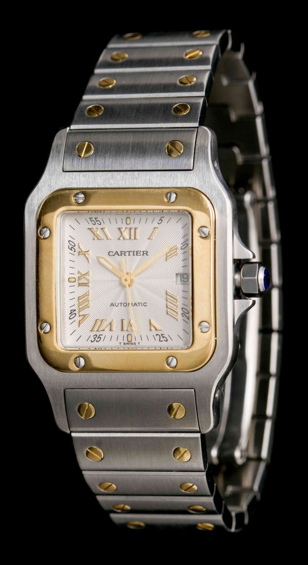 A Stainless Steel and 18 Karat Yellow Gold Ref. 2319