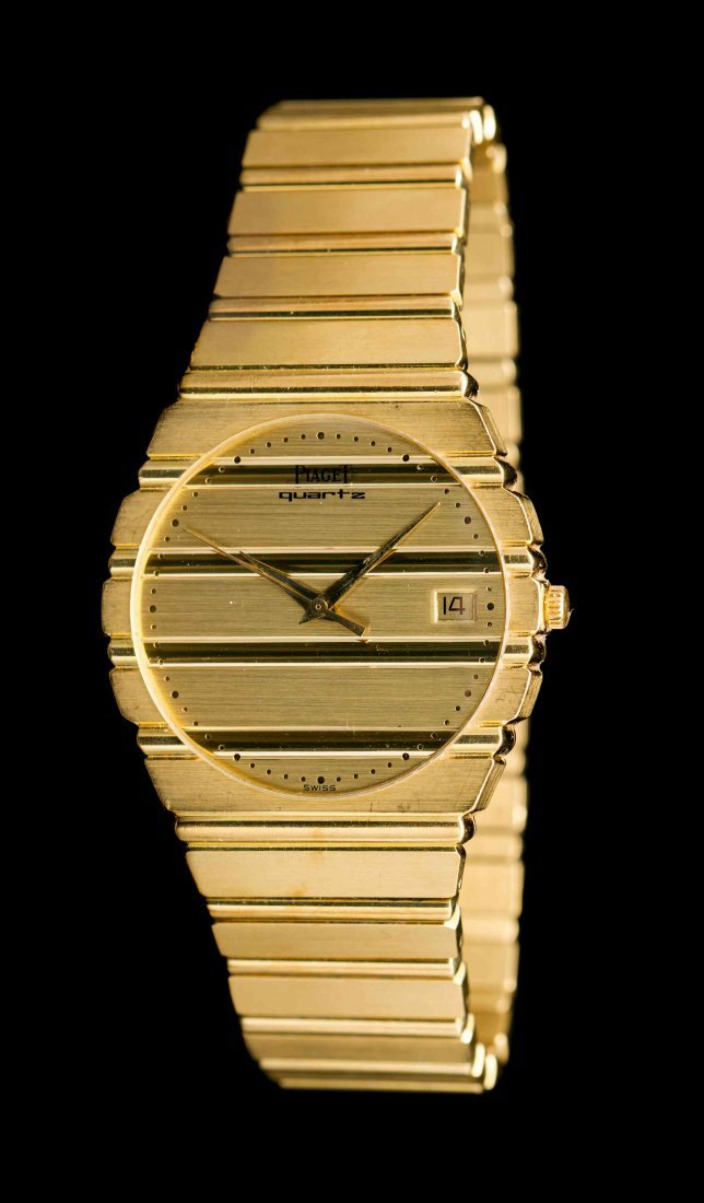 An 18 Karat Yellow Gold Ref. 15661 Polo Wristwatch,