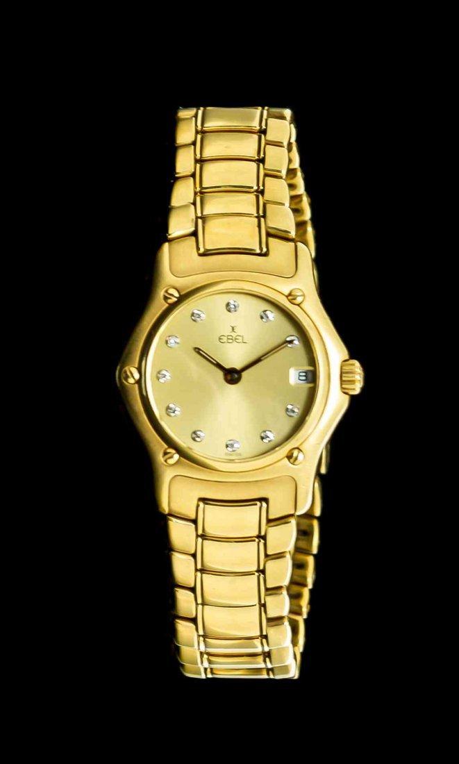 An 18 Karat Yellow Gold 1911 Collection Wristwatch,