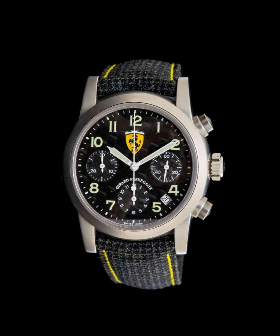 A Titanium Ref. 8020 Ferrari Edition Chronograph