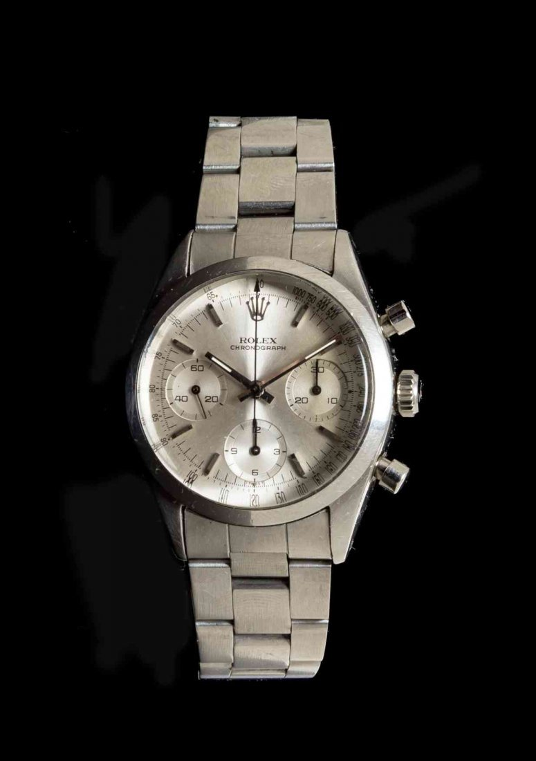 A Stainless Steel Ref. 6238 Chronograph Wristwatch,