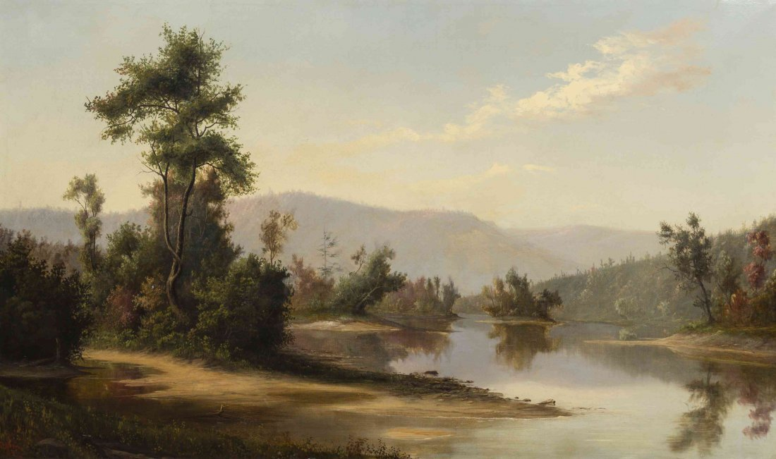 Franklin de Haven, (American, 1856-1934), Hudson River