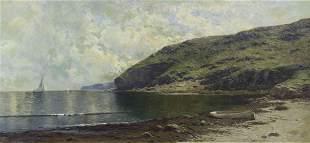 Alfred Thompson Bricher, (American, 1837-1908), Coastal