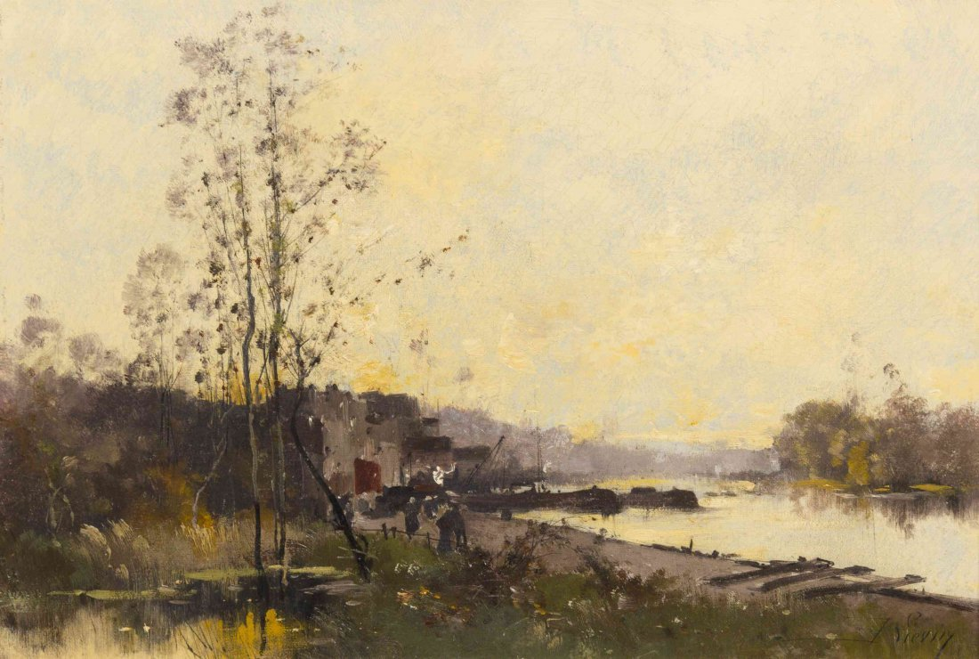 Eugene Galien-Laloue (Jacques Lievin), (French, : Lot 0170