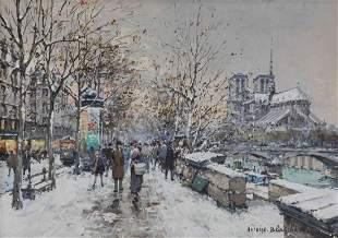 Antoine Blanchard, (French, 1910-1988), Notre Dame de P