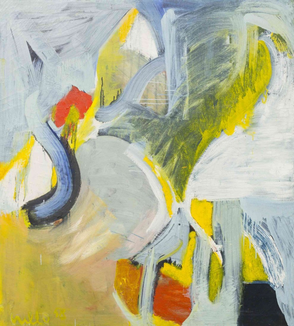 John Grillo, (American, b. 1917), Untitled, 1958