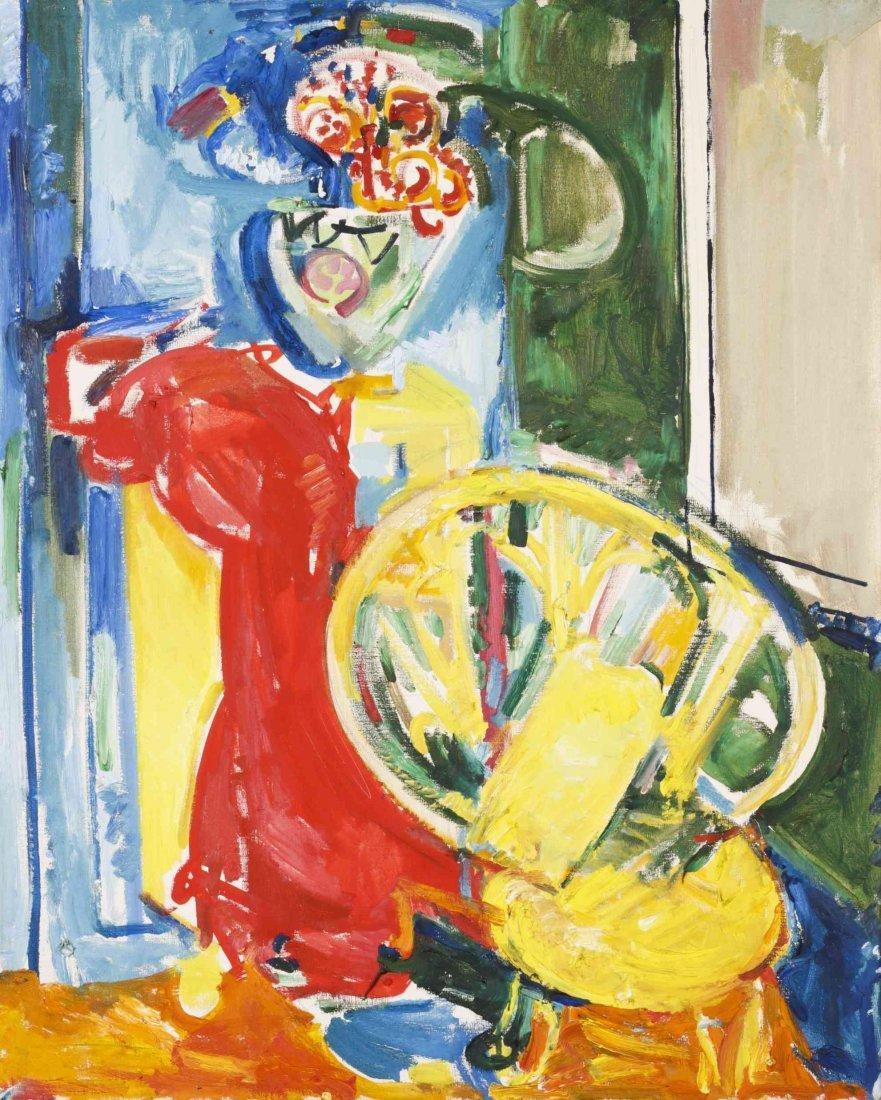 Hans Hofmann, (German/American, 1880-1966), Still Life