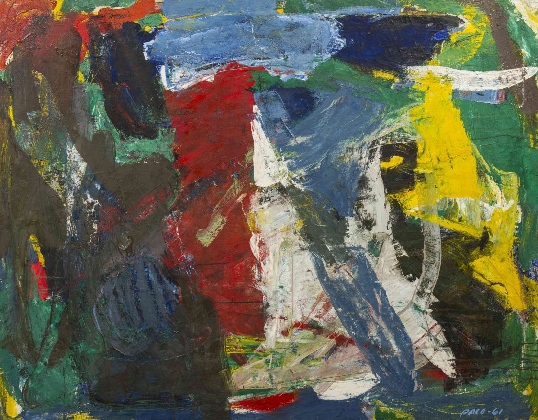 Stephen S. Pace, (American, 1918-2010), 61-102, 1961