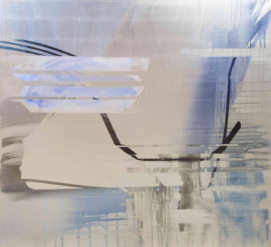 Jacqueline Humphries, (American, b. 1960), Untitled