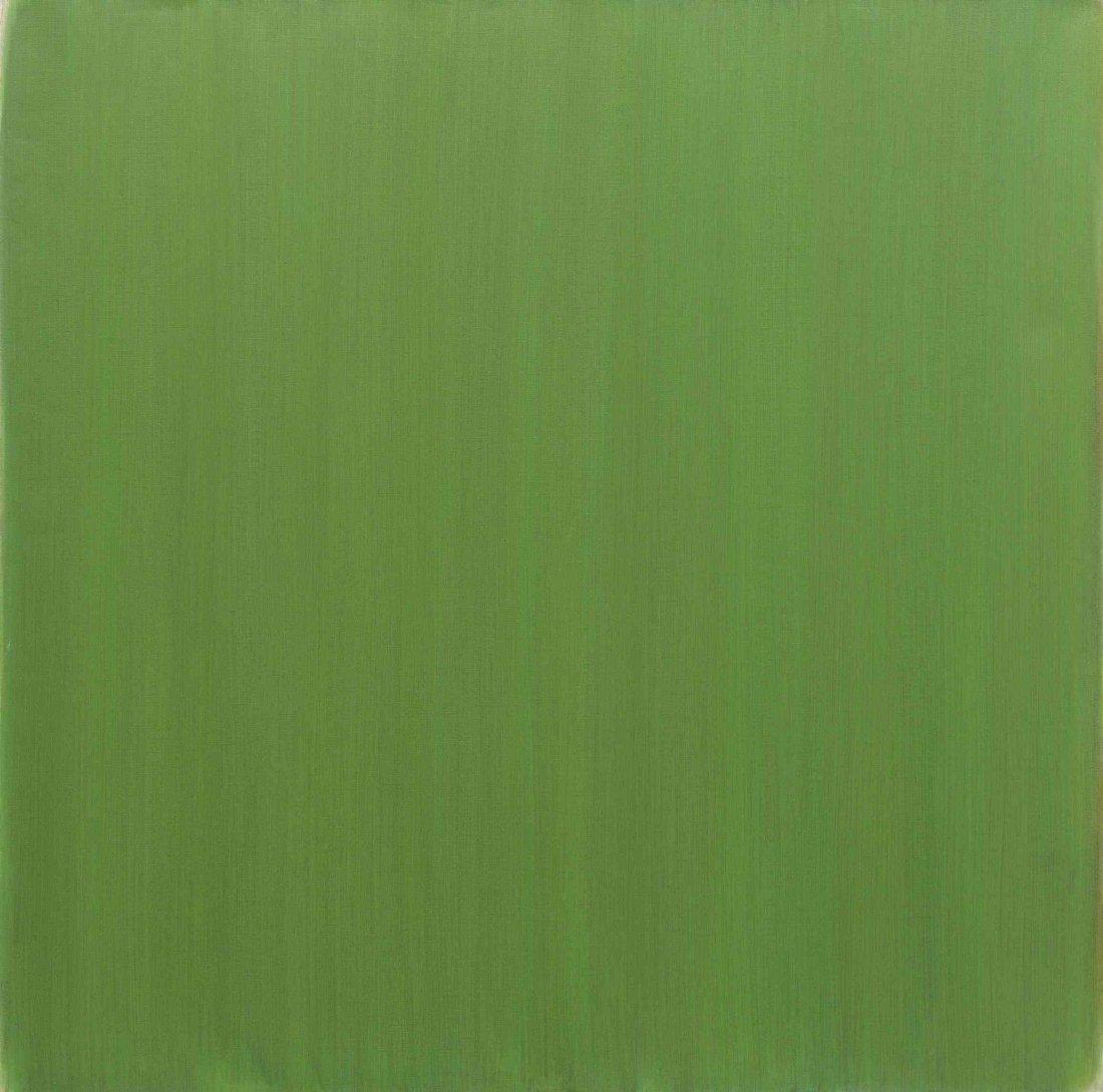 Phil Sims, (American, b. 1940), Green Navigator, 2008