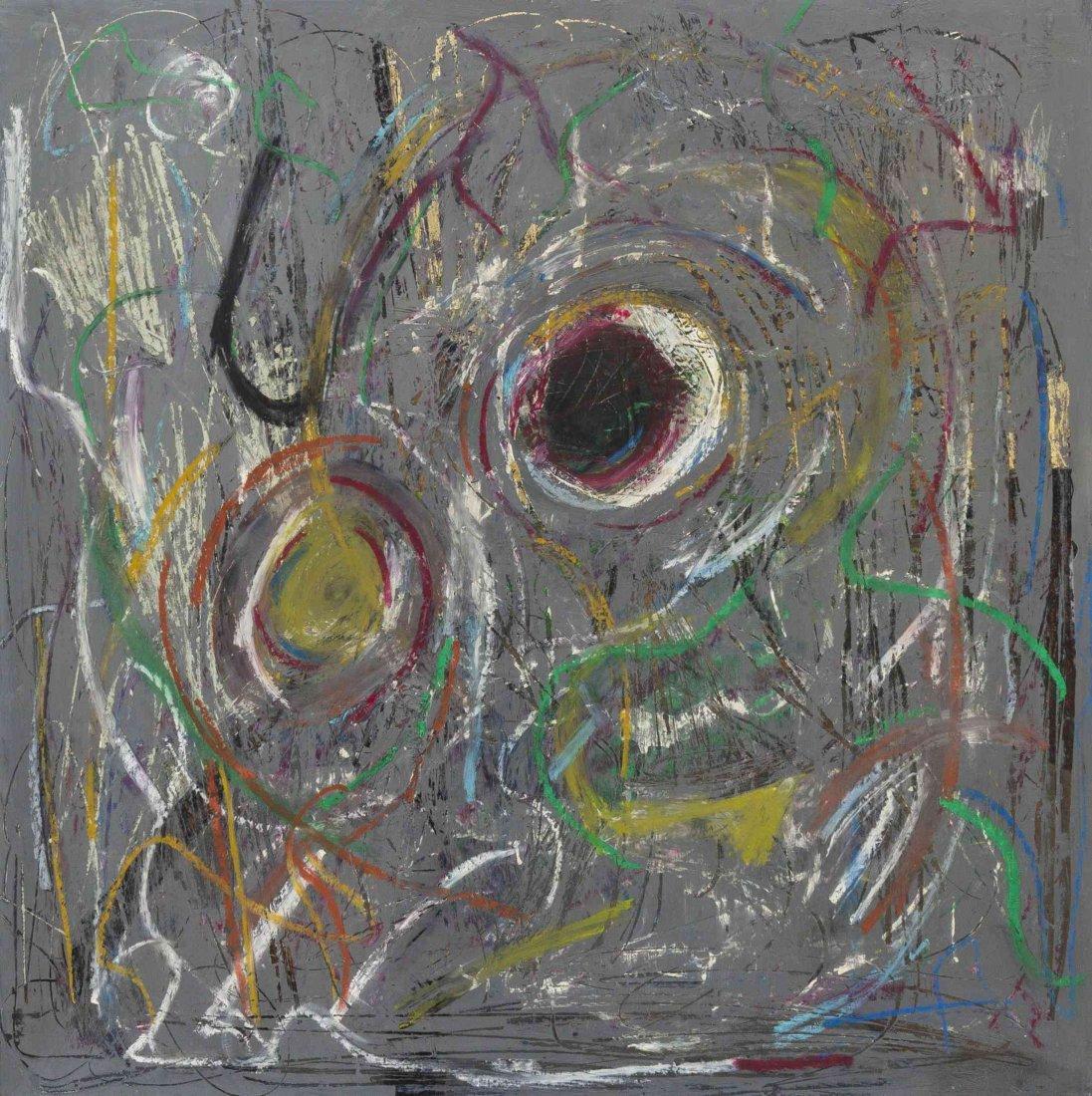 Michael Goldberg, (American, 1924-2007), Earth Rhythms